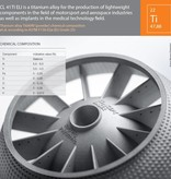 Concept Laser Titanium alloy TIAi 6V4 ELI CL41TI ELI (1Kg).