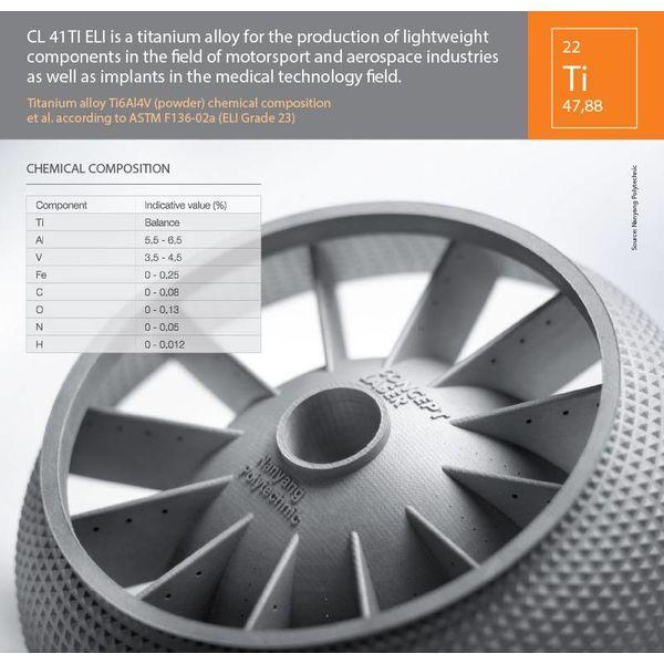 Titanium legering CL41TI
