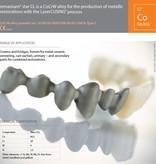 Concept Laser CobaltChrome Remanium® starCL 1Kilogram