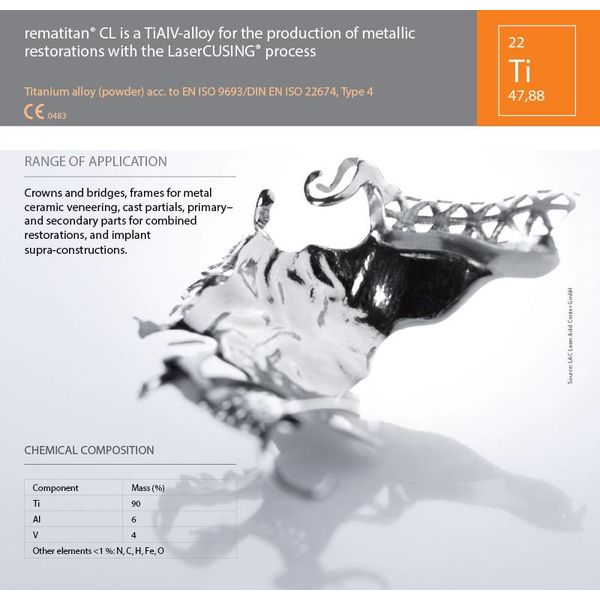 Titanium alloy Rematitan®