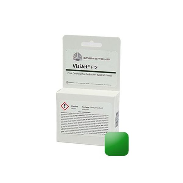 Visijet FTX Green Cartridge