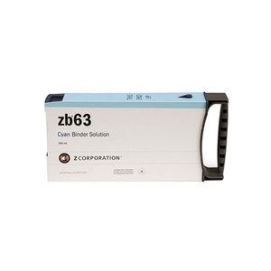 3D Systems ZB63 Cyan Binder Solutions (0,3L)