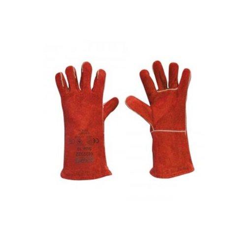 Heatresistant gloves leather