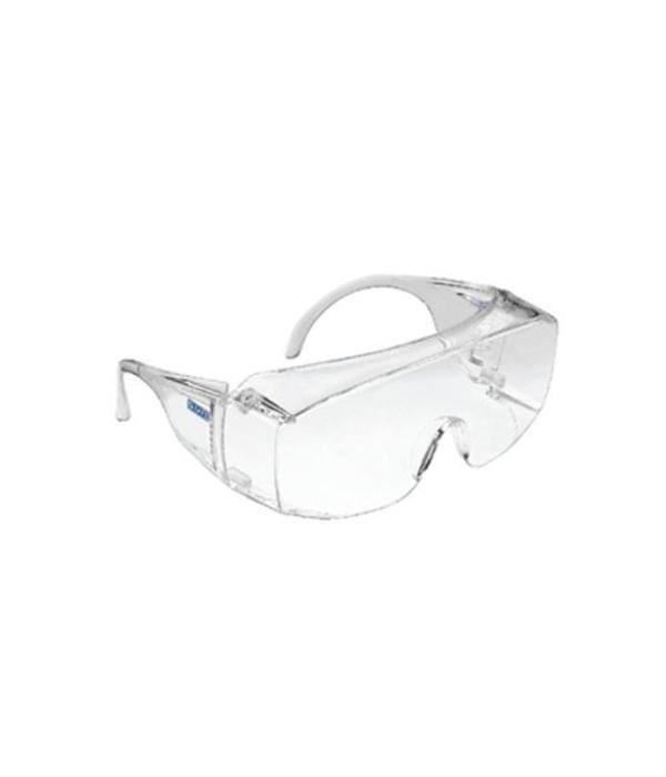 Q-Safe Overzetbril heldere lens en montuur