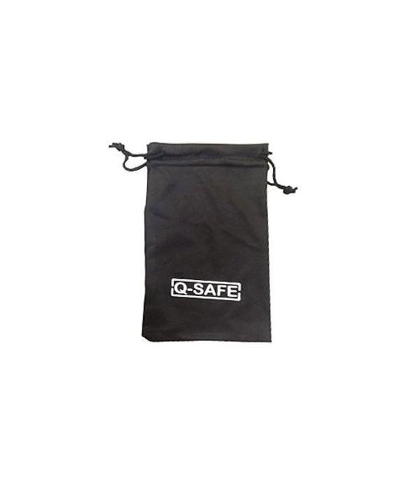 Q-Safe brillenhoes zwart