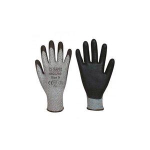Q-safe handschoen snijklasse 5 PU coating 12 paar