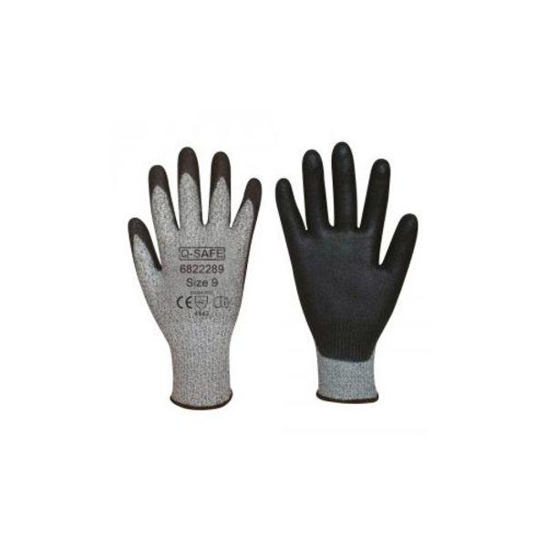 Q-safe handschoen snijklasse 5 PU coating