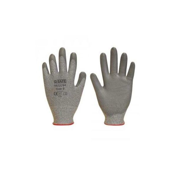 Q-Safe handschoen snijklasse 3 PU coating