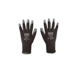 Q-Safe handschoen snijklasse 4 PU coating 10 paar