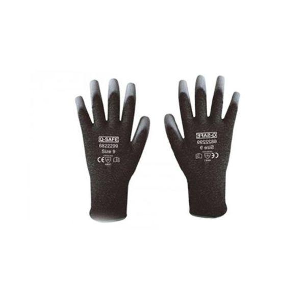 Q-Safe handschoen snijklasse 4 PU coating