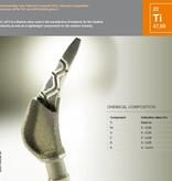 Concept Laser Titanium legering CL42Ti 1Kilogram