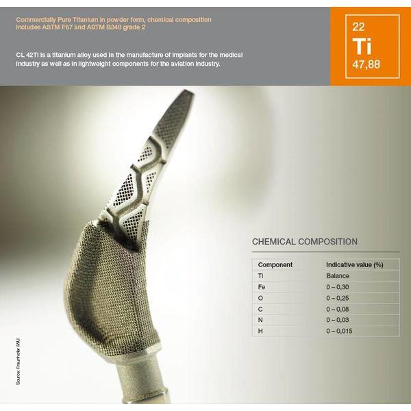 Titanium alloy CL42Ti