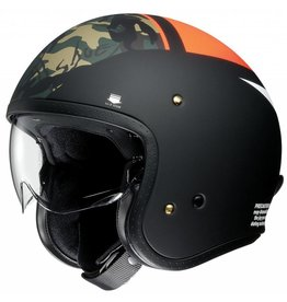 Shoei J-O Seafire Orange