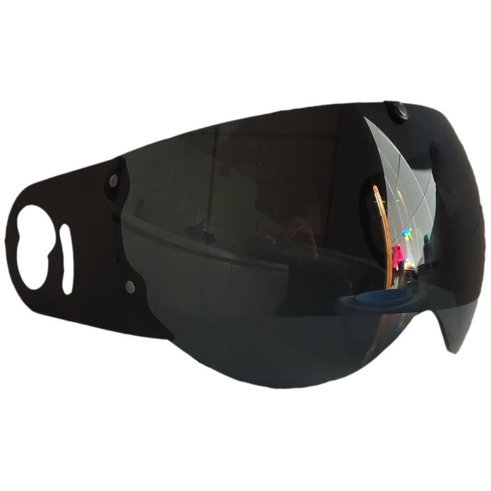 Roof Boxer V8 visor: 100% dark smoke