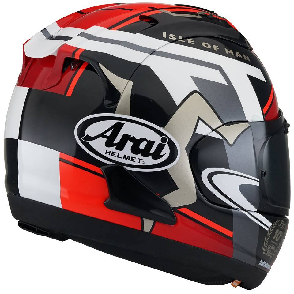 Arai Arai RX-7V Isle of Man TT 2018