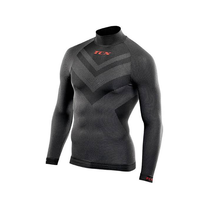 TCX LONG-SLEEVED NECKED TOP
