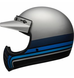 Bell Moto 3 Stripes Black/Blue