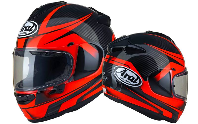 Arai Chaser-X Though red
