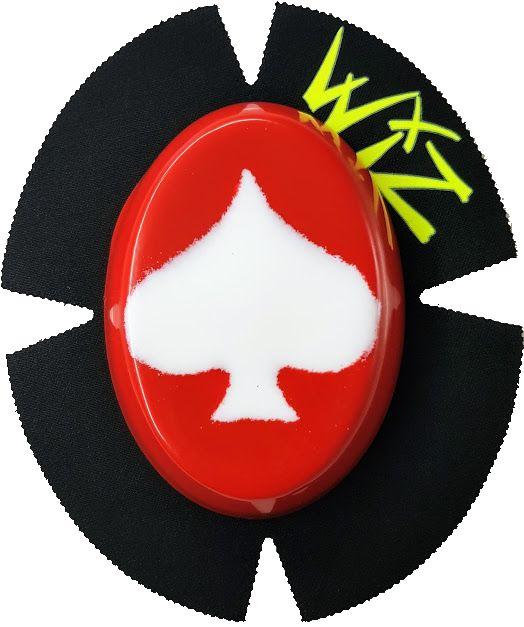 WIZ Wiz Sparky Slider White Red Ace