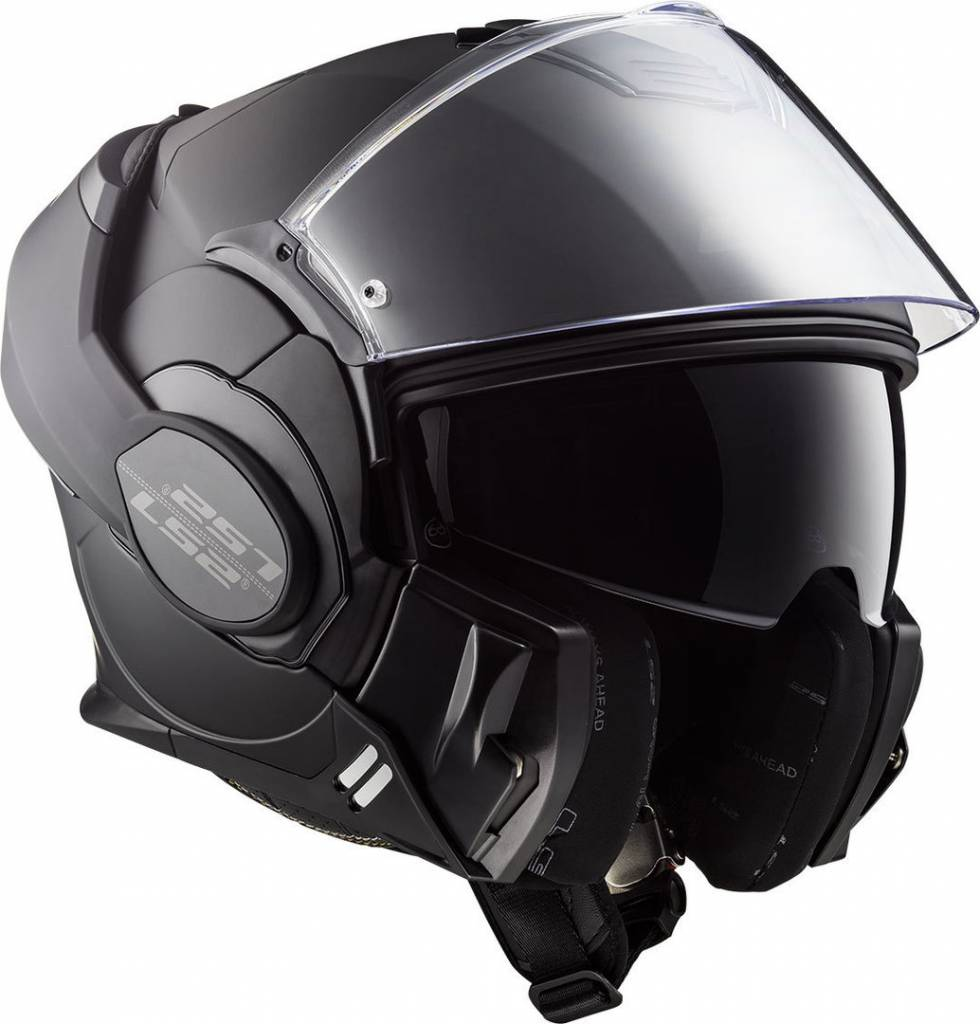 LS2 FF399 Valiant Matte Black
