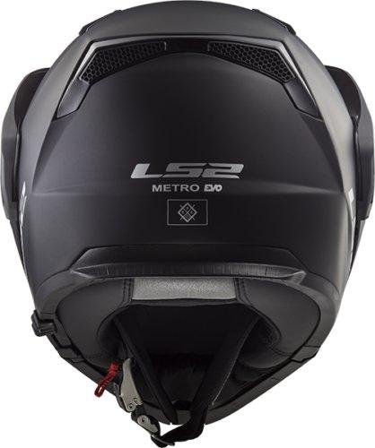 LS2 FF324 Metro Evo  Black