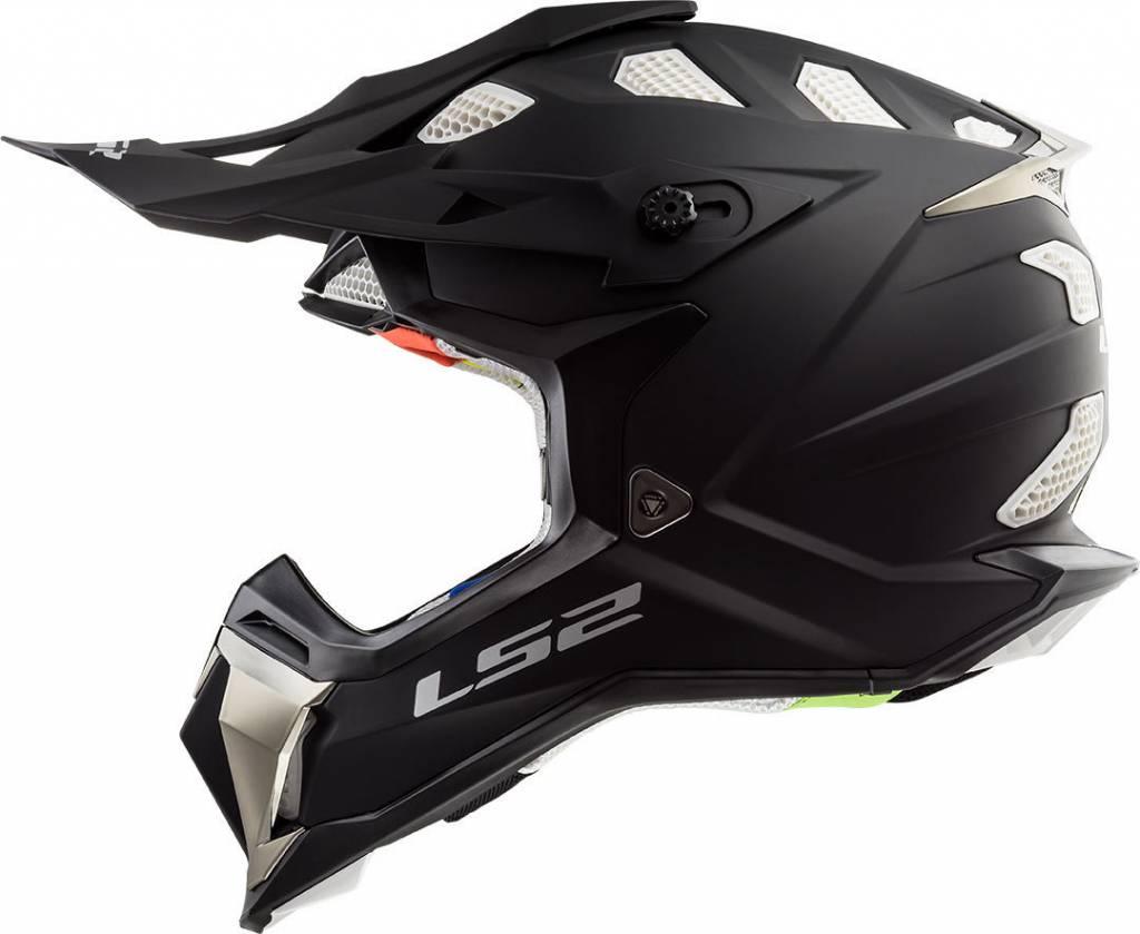 LS2 MX470 Subverter Matte Black