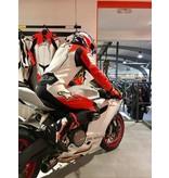 Alpinestars GP Plus suit LIMITED EDITION 1pc white black red fluo