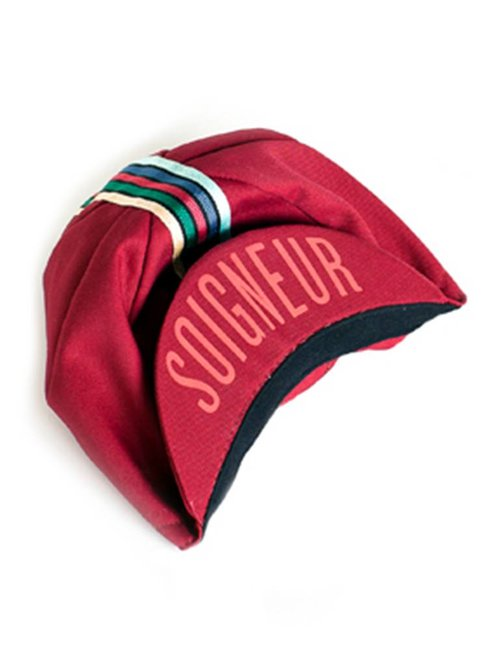 CYCLING CAP (RED)