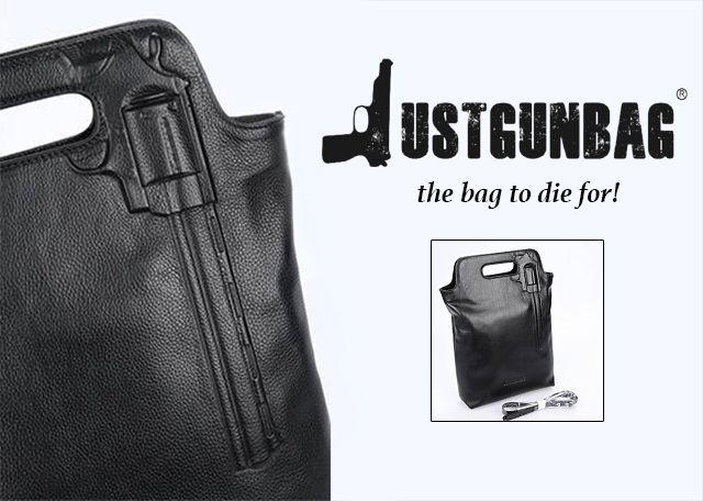 JustGunBag® JGB Shopper Zwart