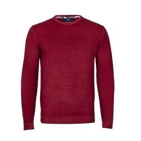 Red Merino Pullover.
