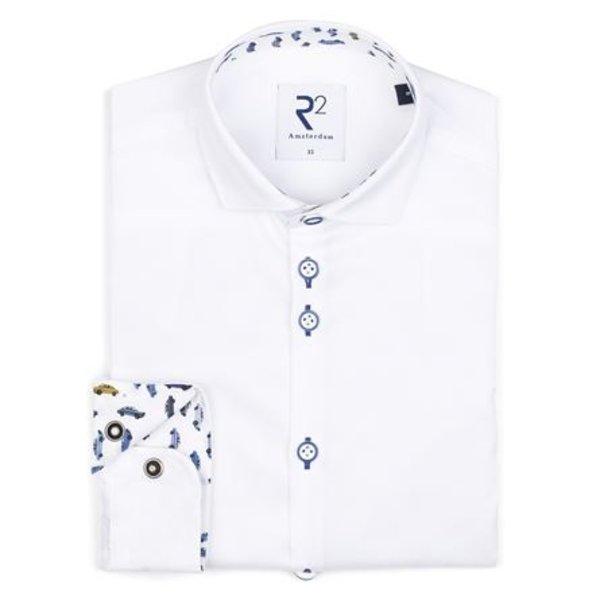 Kids wit katoenen overhemd.