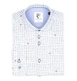 R2 Kids wit shirt met voetbal print.
