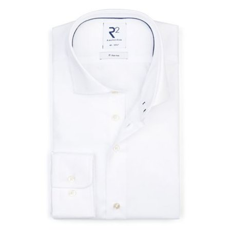 White non iron shirt.