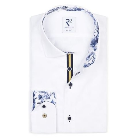 White cotton shirt SL7.