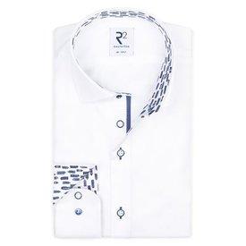 White cotton shirt SL7.