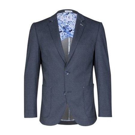 Dark blue blazer.