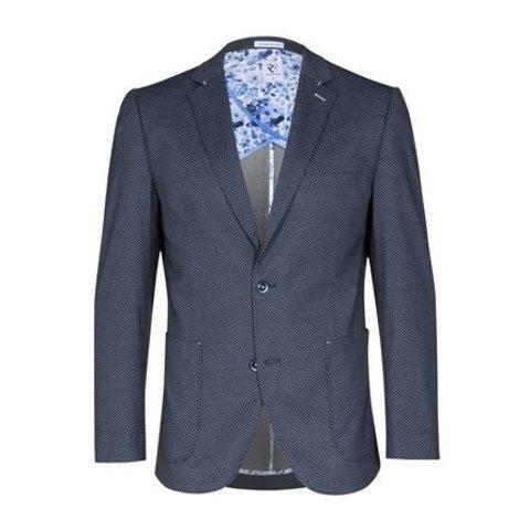 Dark blue blazer.