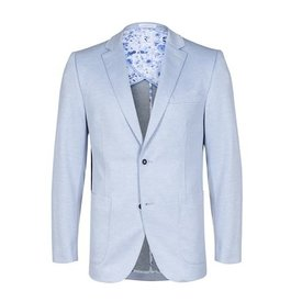 Light blue blazer.
