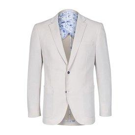 Cream blazer.