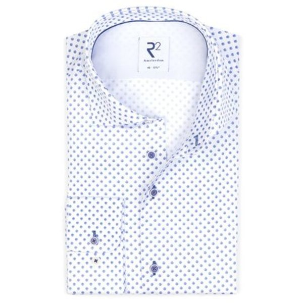 Print with circles from the 'Royal Blue' theme.