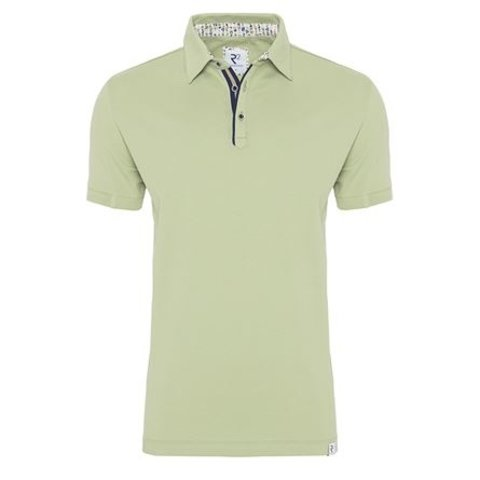 Green plain polo.