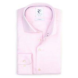 Light pink non-iron cotton shirt.