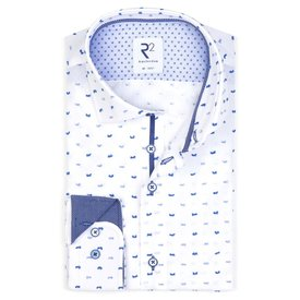 White Fil coupe reversed cotton shirt.