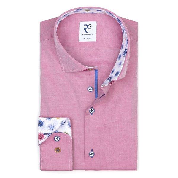 XL Fit. Fuchsia cotton shirt.