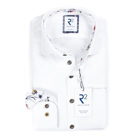 White linen/cotton shirt.
