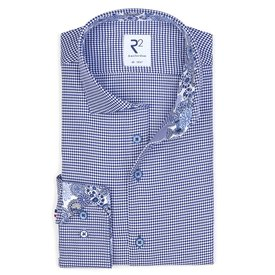 Blue Pied the Poule cotton shirt.