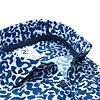 Wit grafische print 4-way stretch overhemd.