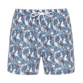 Swim short met toekans.