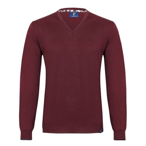 Bordeaux extra fine wool  pullover.