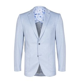 Light blue blazer.